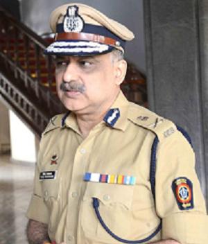 श्री. परम बीर सिंह, भा.पो.से., पोलीस आयुक्त, बृहन्मुंबई.
