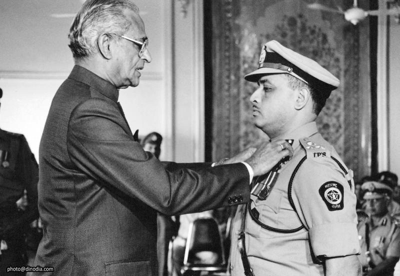 मुंबई शहर पोलीस बृहन्मुंबई पोलीस बनले - १ ऑक्टोबर १९४५